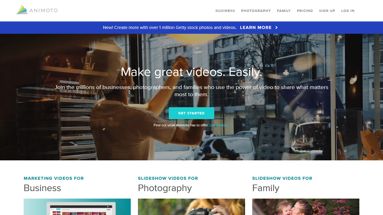 Animoto video maker Stand out on social media Easily Animoto