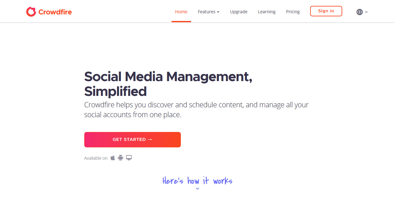 Crowdfire The only social media manager you'll ever need
