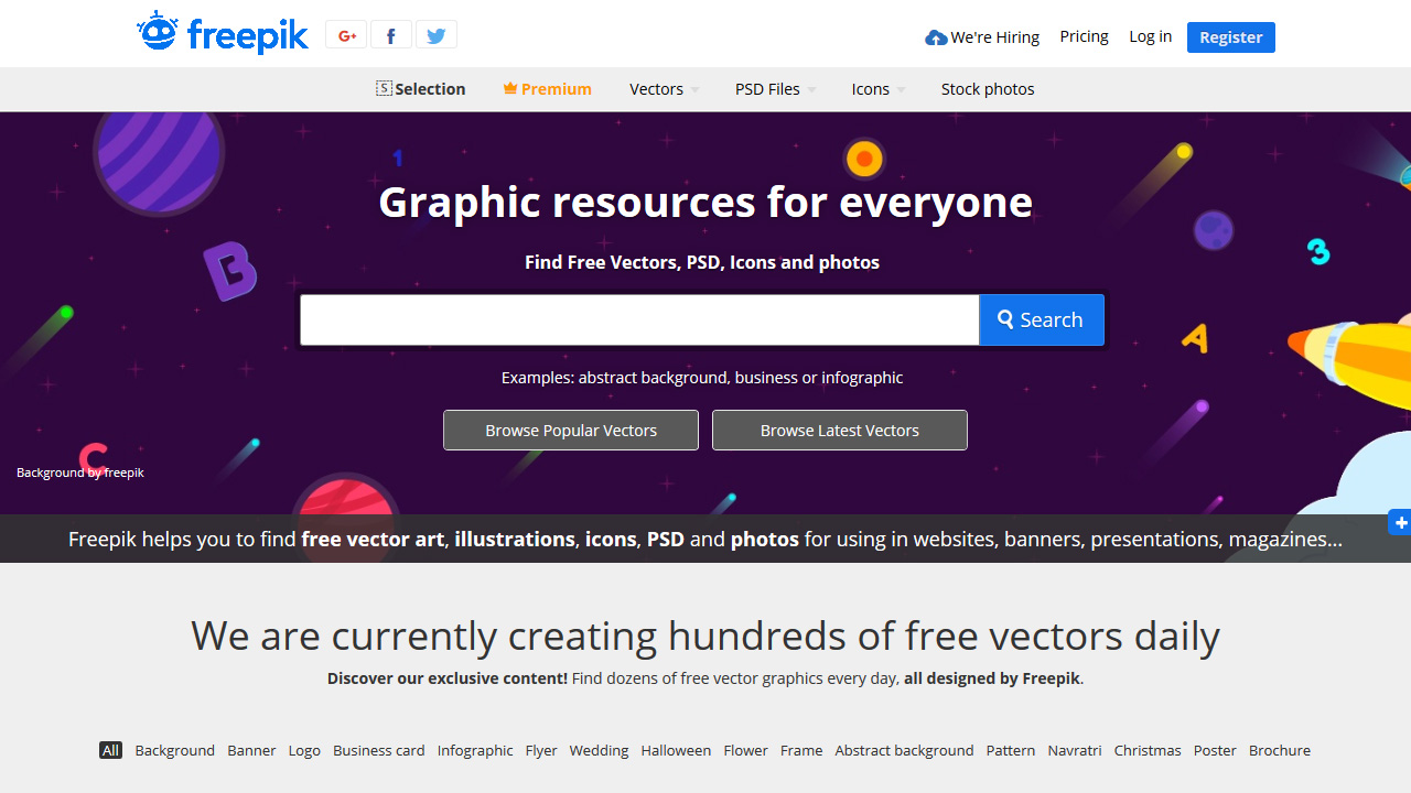 Freepik Free Graphic resources for everyone