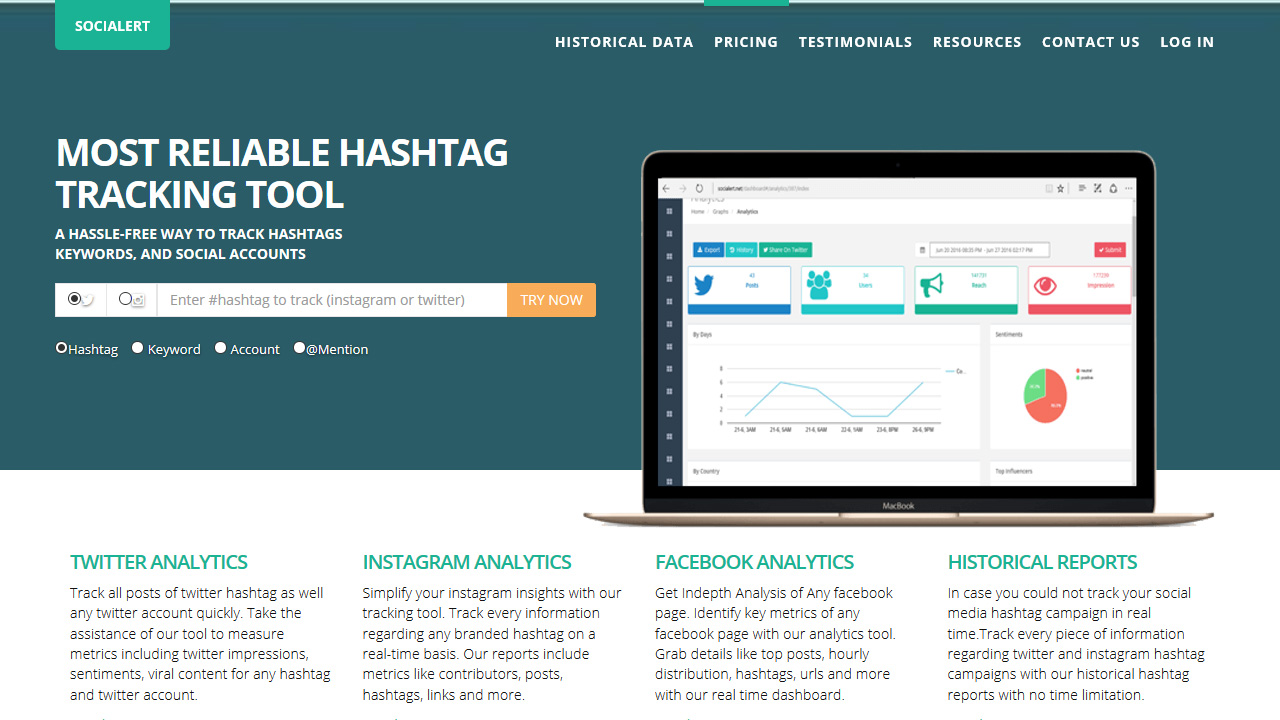 Hashtag Tracking Tools for Twitter Instagram Facebook
