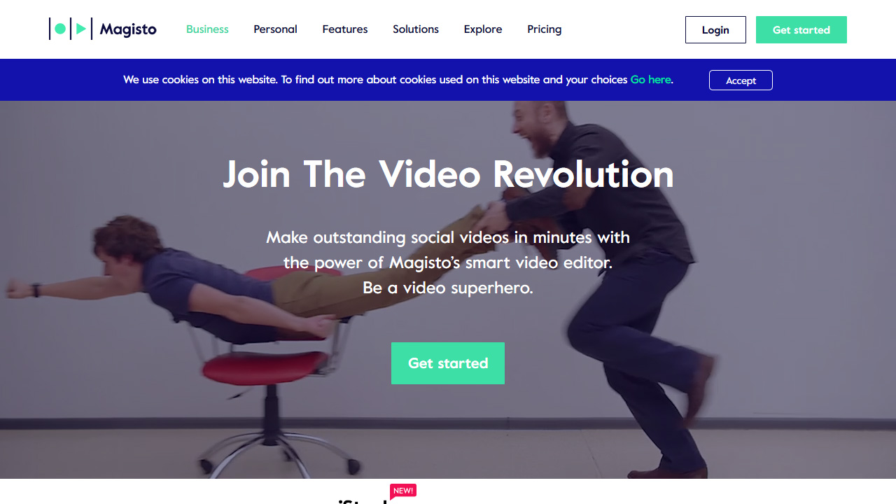 Online Video Editor Smart Video Maker by Magisto