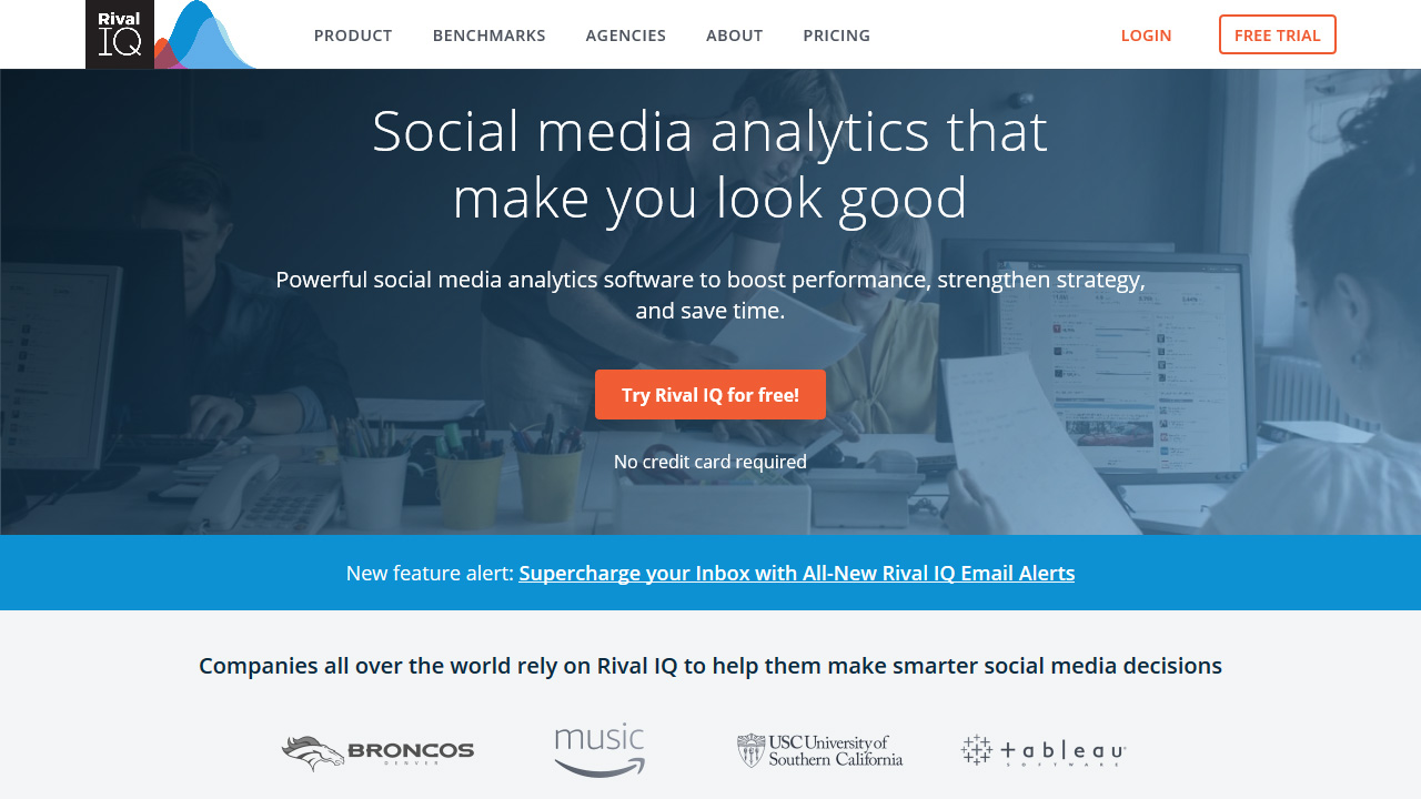 Rival IQ Competitive Social Media Analytics for Digital Marketers