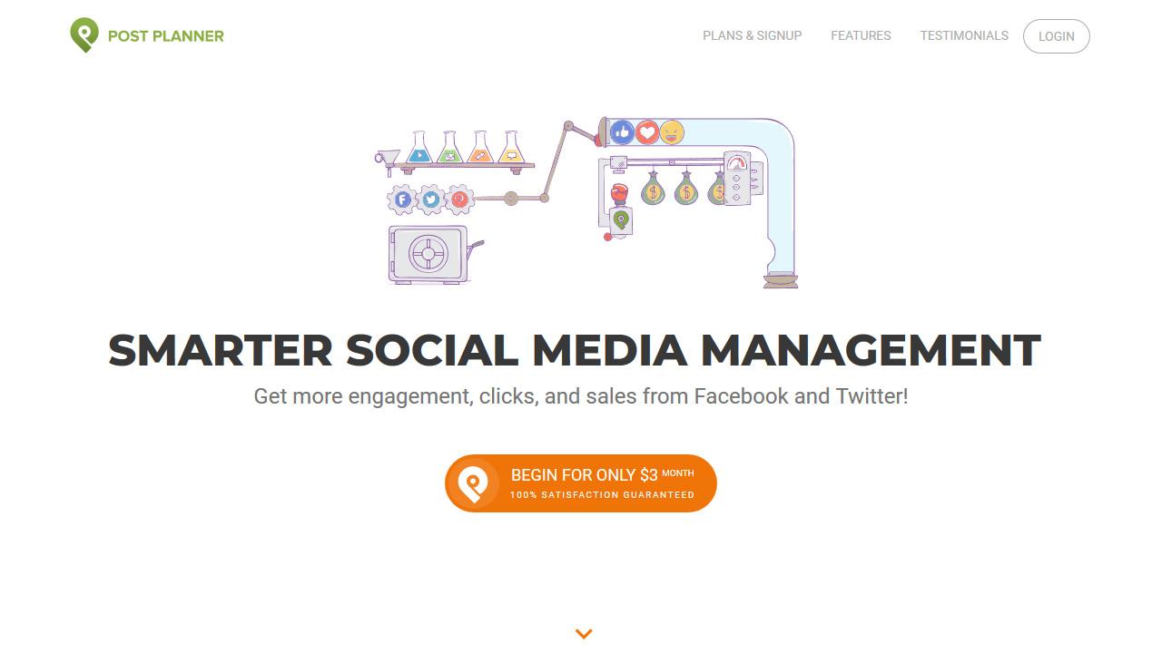 Social Media Engagement App