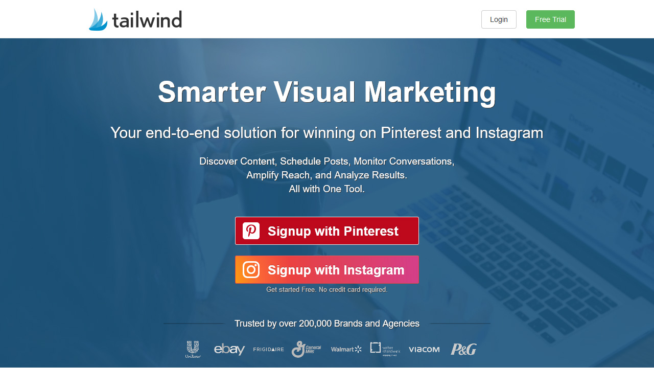 Tailwind Pinterest Instagram Scheduler Analytics Marketing Tool