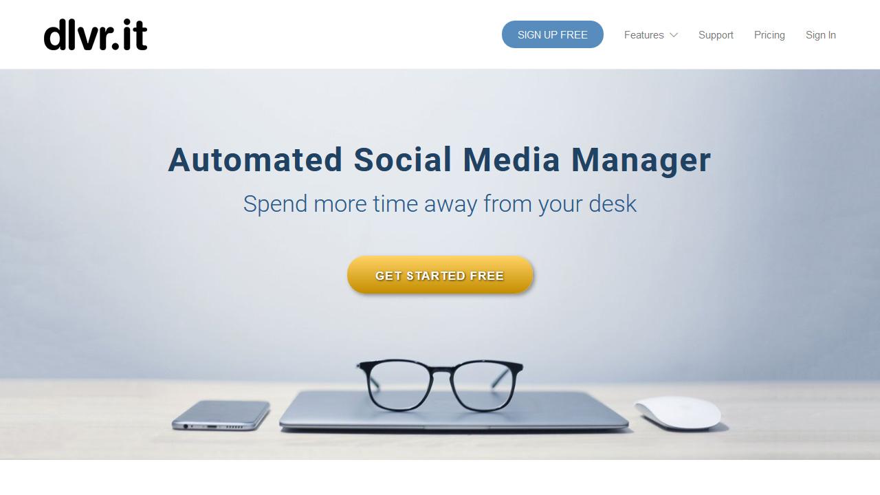 Dlvr it 1 Social Media Automation Tool