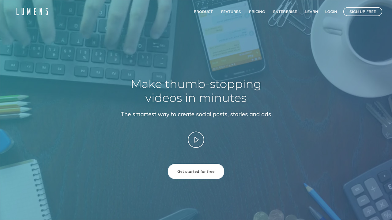 Lumen5 The Fastest Video Maker for Social Video Marketing
