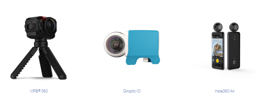 camera for 360 videos