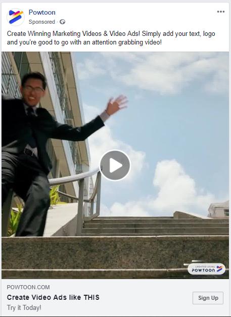 powtoon create winning marketing videos on facebook