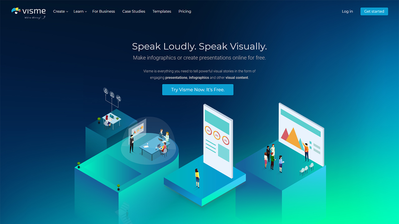 Visme Make Beautiful Presentations and Infographics Online
