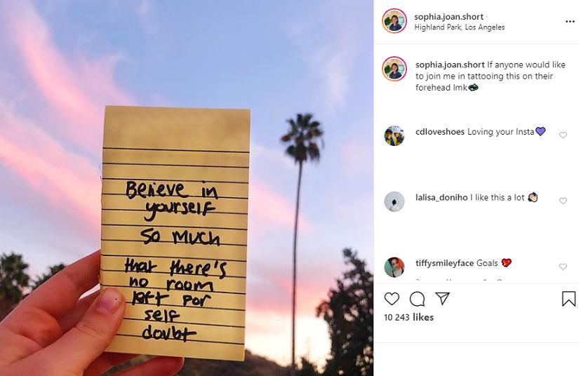 Instagram caption idea: Write in the Images