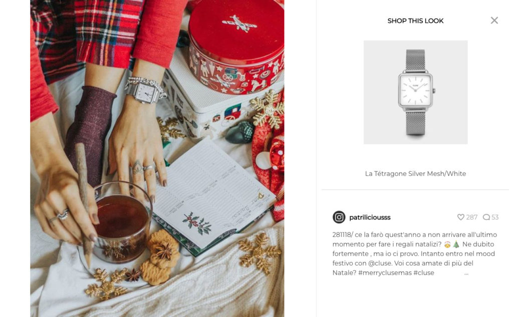 Landing page tips User-Generated Content instagram post