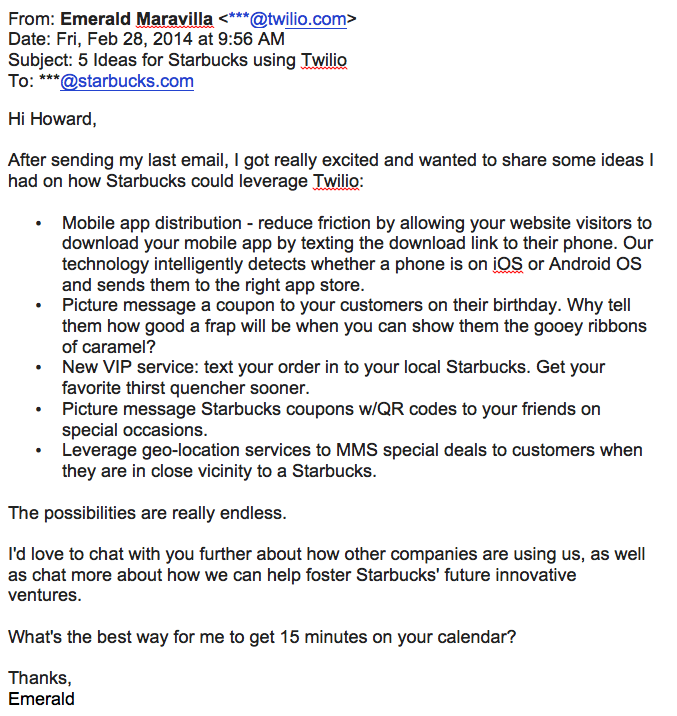 follow-up email example