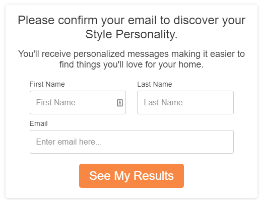quiz idea discover your style personality