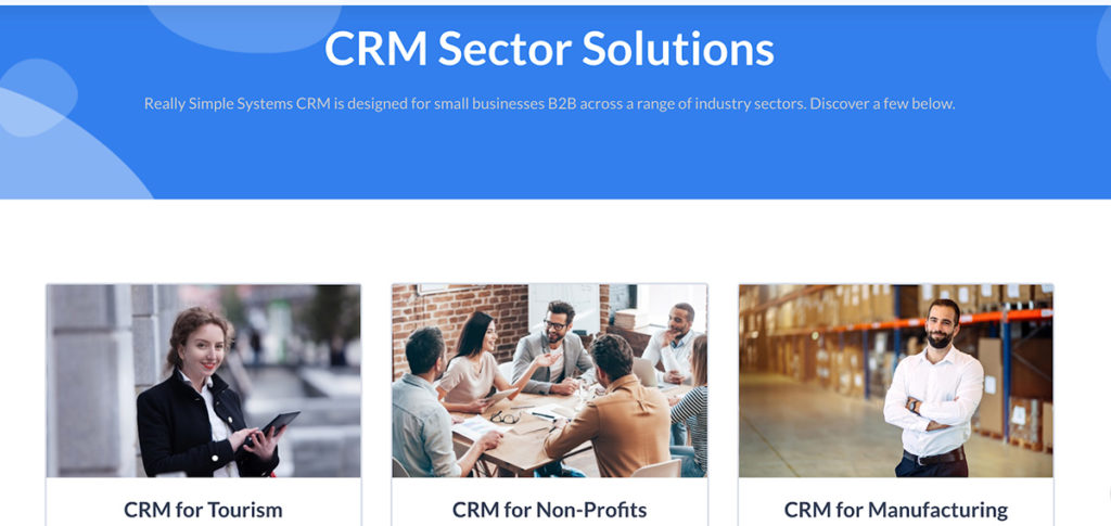 crm sector solutions criteria for segmentation