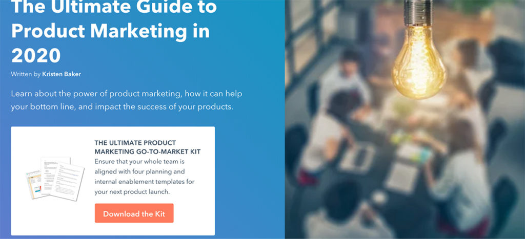 the ultimate guide to product marketing