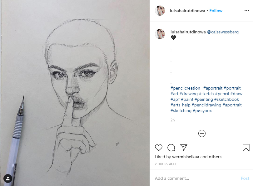 instagram hashtags for artists ideas examples