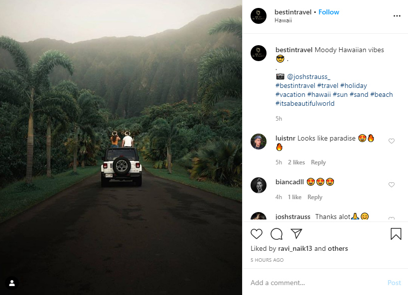 instagram hashtags for holiday ideas examples
