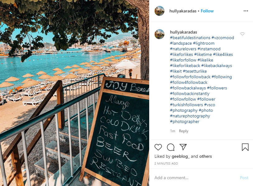 instagram hashtags for likes ideas examples