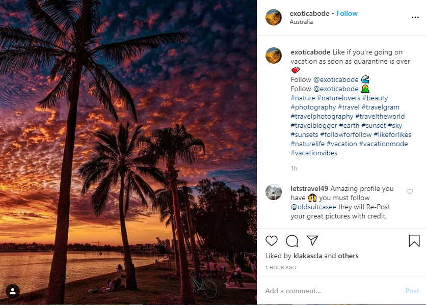 instagram hashtags for travel ideas examples