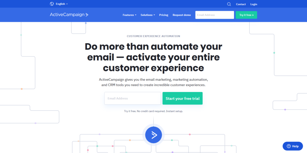 ActiveCampaign automation & Customer Engagement Tool