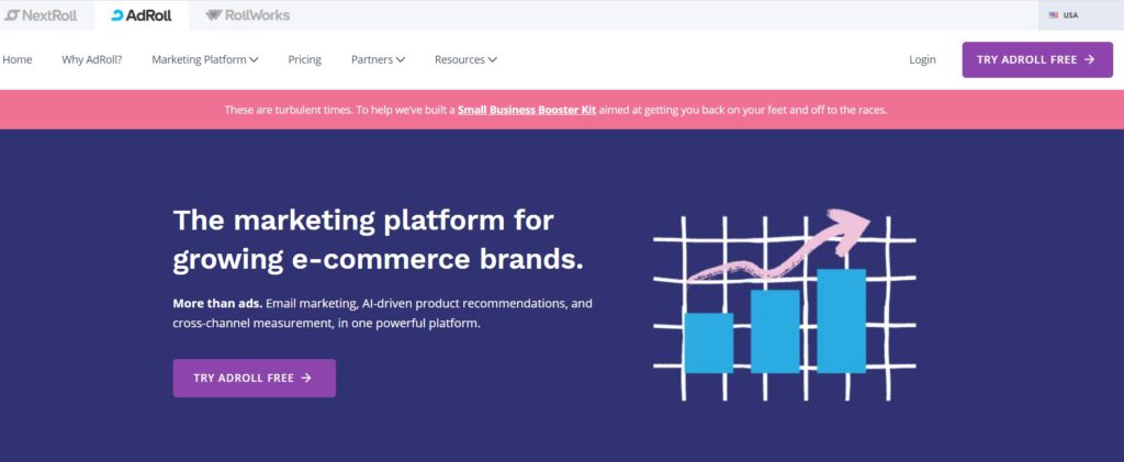 AdRoll Search Engine Marketing tool