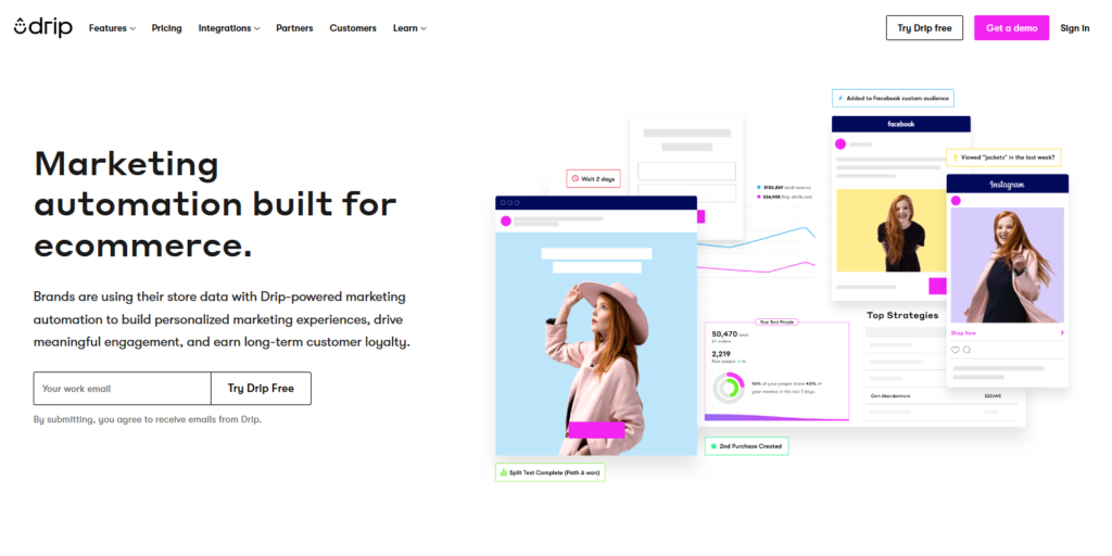 Drip Email Marketing Automation Tool