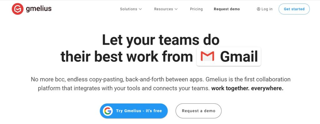 Gmelius Email Marketing Automation Tool