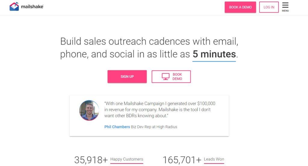 Mailshake Email Marketing Automation Tool