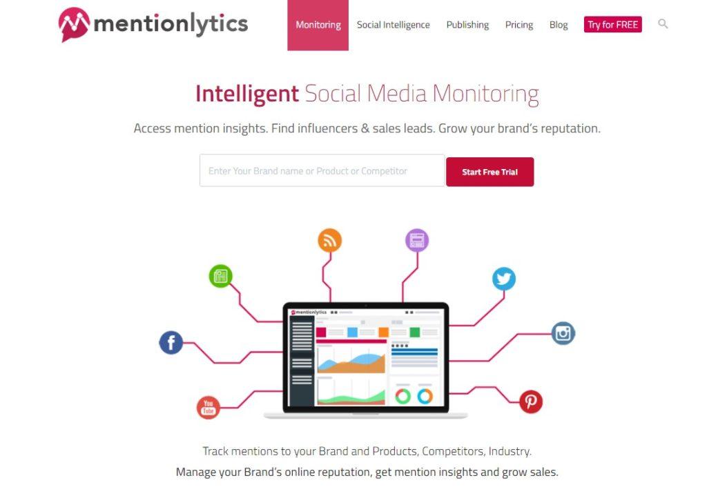 Mentionlytics Social Media Marketing Automation tool