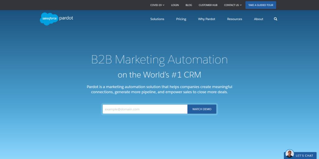 Pardot automation & Customer Engagement Tool