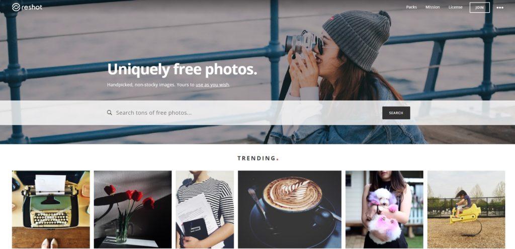 reshot free images
