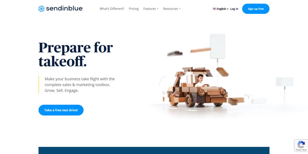 SendInBlue Email Marketing Automation Tool