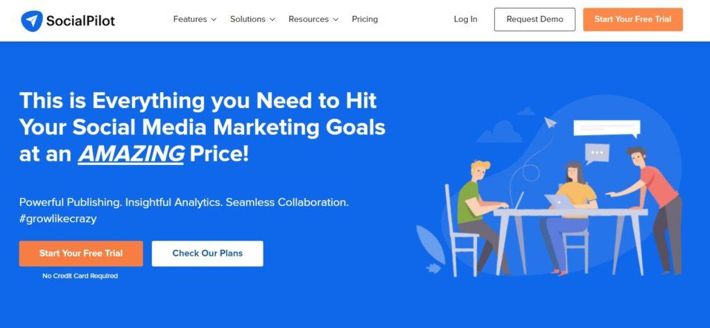 SocialPilot Social Media Marketing Automation tool
