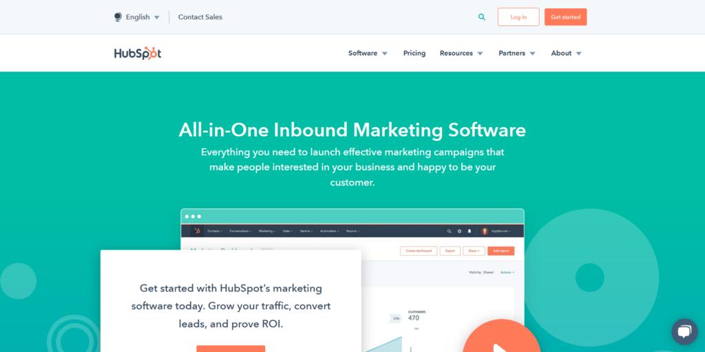 HubSpot Marketing lead generation app