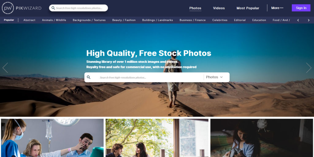 Pikwizard Free Stock Photos