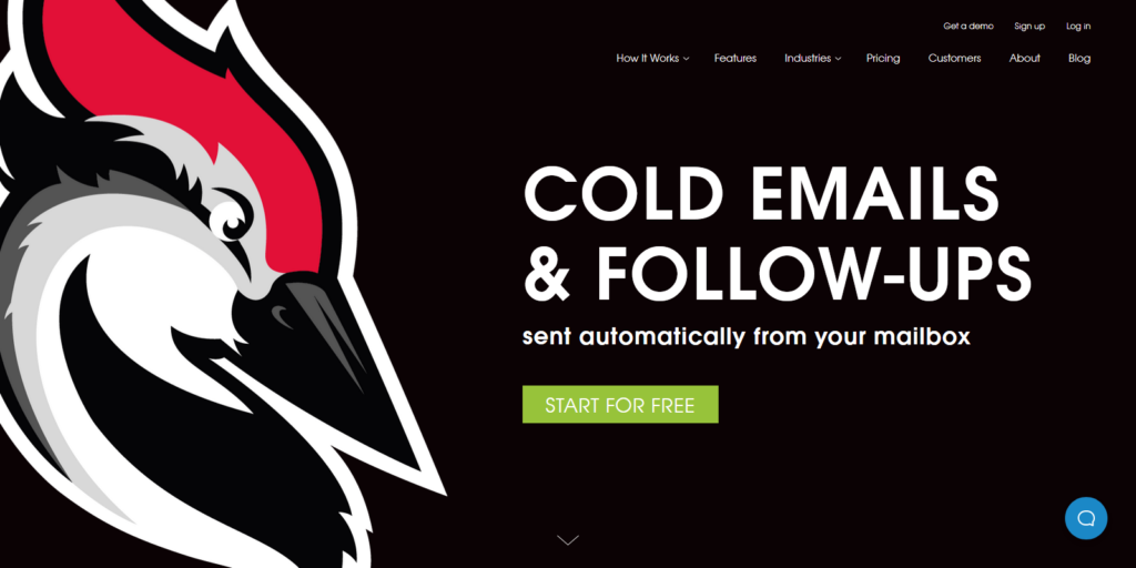 Woodpecker email outreach tool