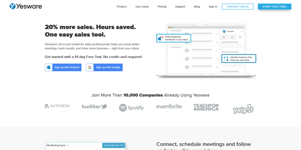 yesware email outreach tool