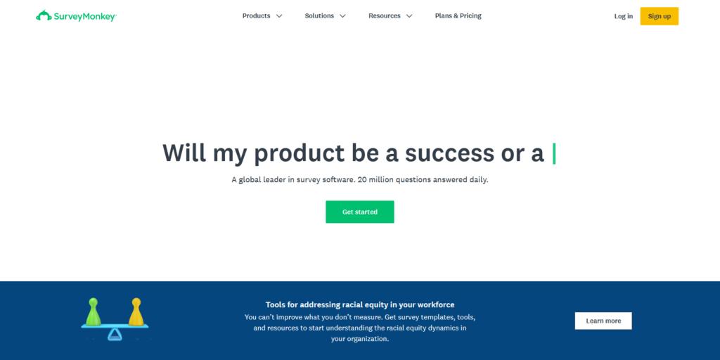 SurveyMonkey  quiz maker app