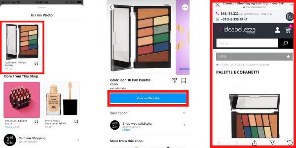 Wetnwilditalia instagram examples