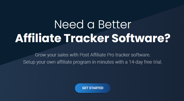 affiliate tracker software cta example
