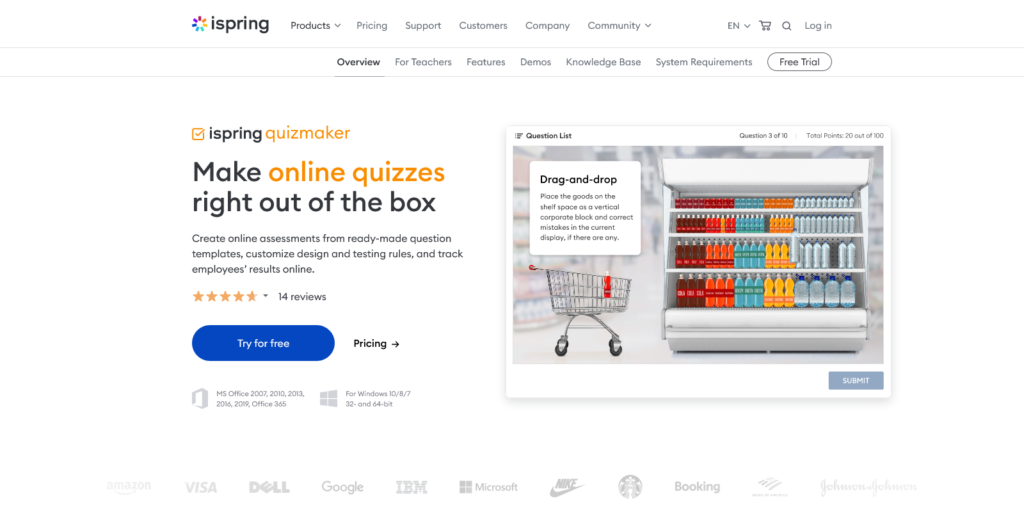 iSpring Quiz Maker Create Quizzes To Assess Learners' Knowledge