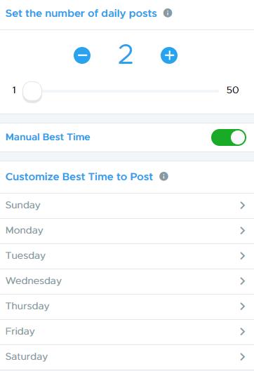 Schedule your Instagram posts