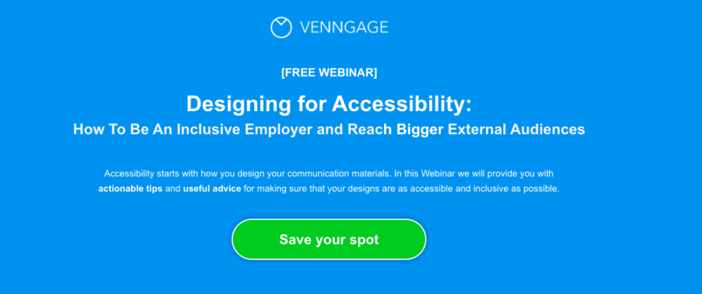 free webinar call to action