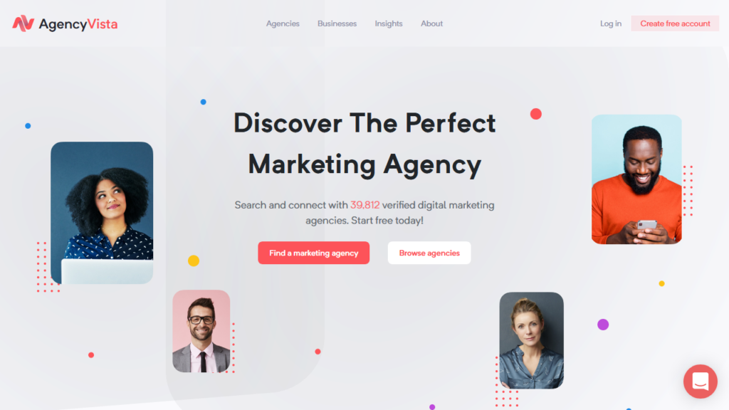Agency Vista Discover the perfect marketing agency for your business