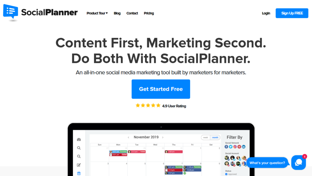 socialplanner - Social media management tool