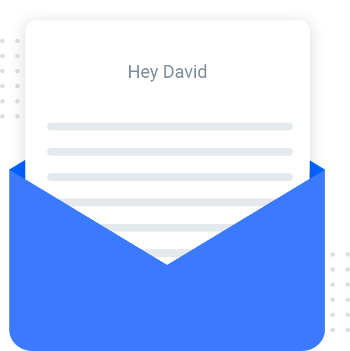 Send personalized email notifications