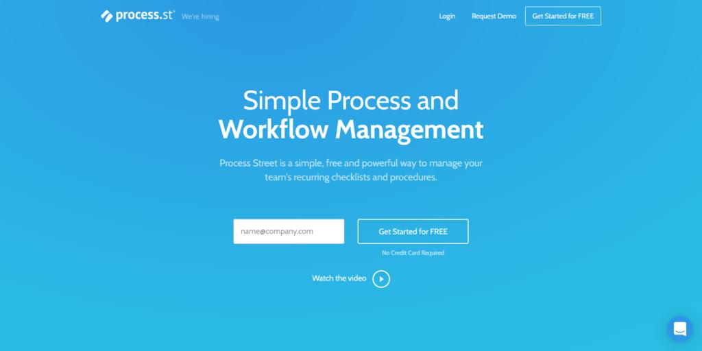 Process Street Form Automation