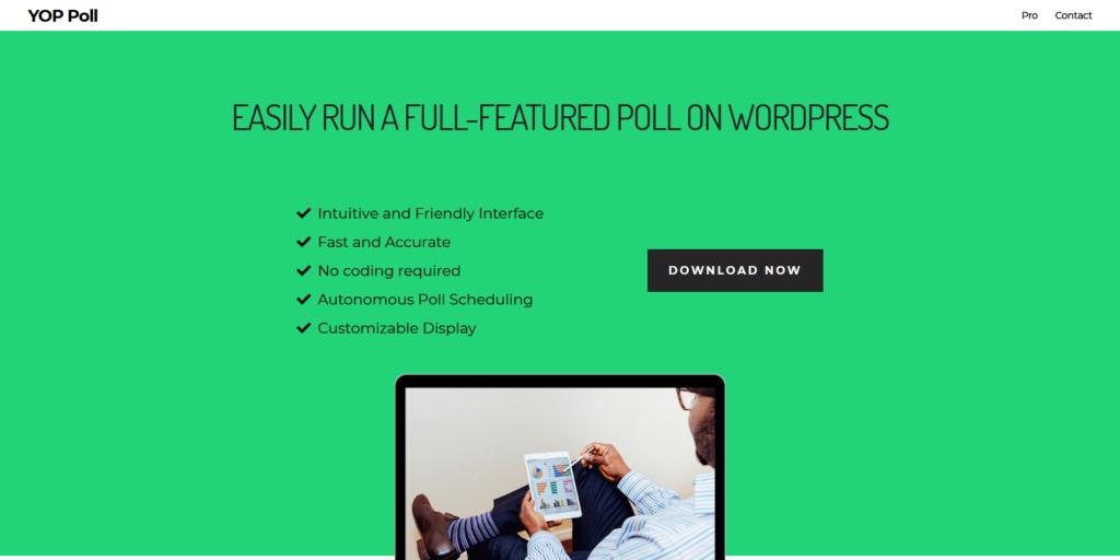 YOP Poll WordPress poll and survey plugin