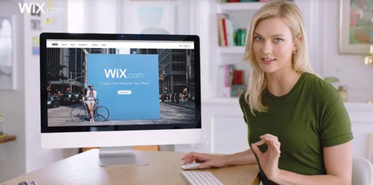 Wix social proof —Celebrity endorsement