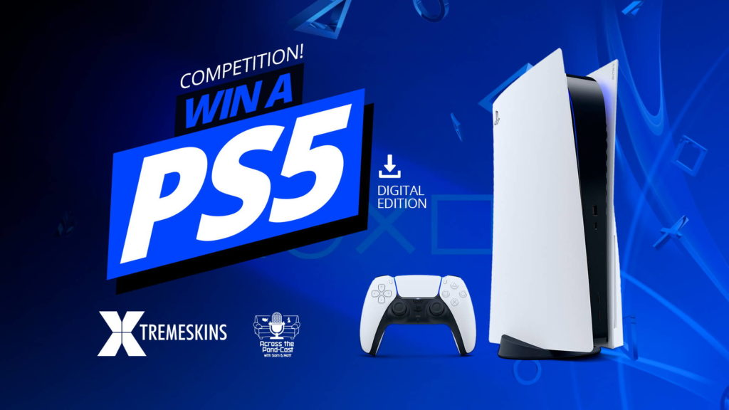 Xtremeskins PS5 Giveaway Landing Page